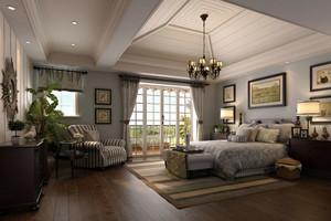 古典欧式风格精致典雅室内卧室背景墙装修效果图