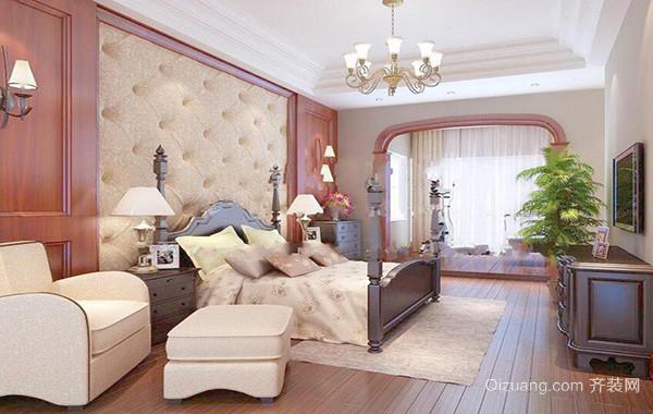 小户型欧式风格卧室背景墙装修效果图鉴赏