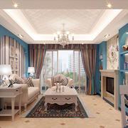 地中海风格客厅装修