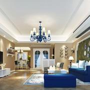 精美地中海风格客厅