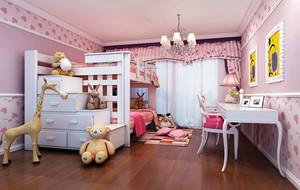 20平米现代简约可爱时尚儿童房装修效果图大全