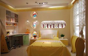 现代简约可爱时尚儿童房装修效果图赏析