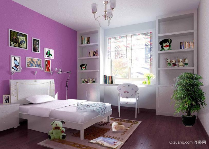 两居室都市自然轻快风格儿童房装修效果图