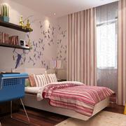 110平米现代简约风格可爱女生儿童房装修效果图