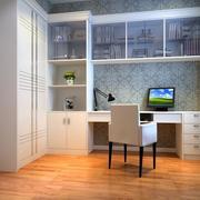 小户型精致的现代书房装修效果图实例