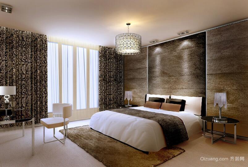 2016精致欧式小户型卧室背景墙装修效果图鉴赏
