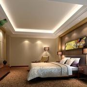 90平米精致欧式卧室设计装修效果图欣赏