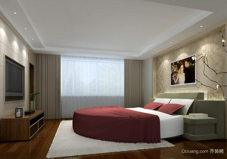 精美的现代欧式卧室设计装修效果图