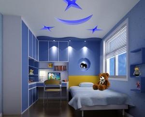90平米大户型儿童房室内装修效果图鉴赏