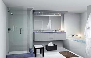 美式風格大戶型時尚衛生間裝修效果圖實例
