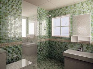 现代简约风格大户型精致卫生间装修效果图赏析