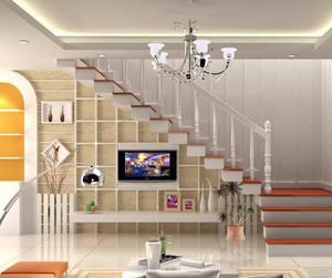 欧式风格精美的别墅客厅电视背景墙装修效果图
