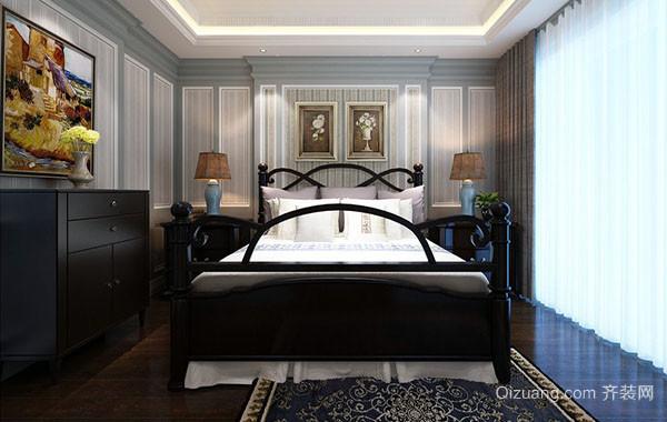 2016年大户型美式风格精致卧室装修效果图赏析