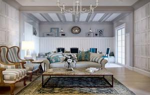80平米地中海风格自然朴素小公寓装修效果图赏析