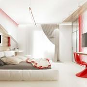 创意时尚卧室效果