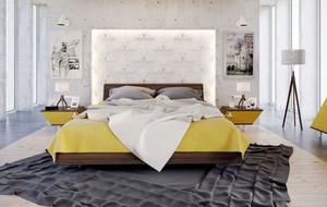 100平米现代简约时尚自然卧室装修效果图大全