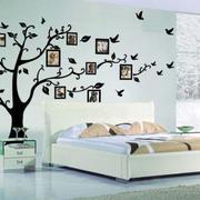 简约创意卧室照片墙