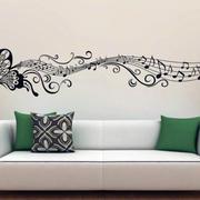 客厅沙发照片墙效果图