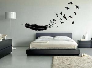 北欧风格简约时尚创意卧室照片墙装修效果图