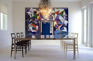 别墅型现代主义风格简约时尚创意餐厅装修效果图
