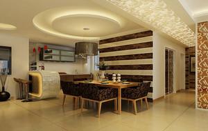 别墅型欧式风格餐厅设计装修效果图鉴赏
