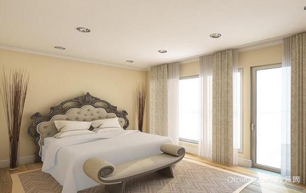 小户型欧式风格卧室吊顶设计装修效果图实例