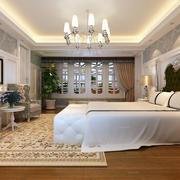精致卧室背景墙装修效果图