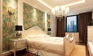 欧式风格精致卧室背景墙装修效果图赏析