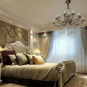 简欧风格精致卧室效果图