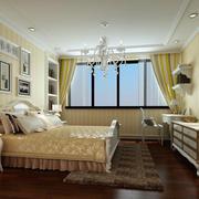 卧室简约背景墙装修
