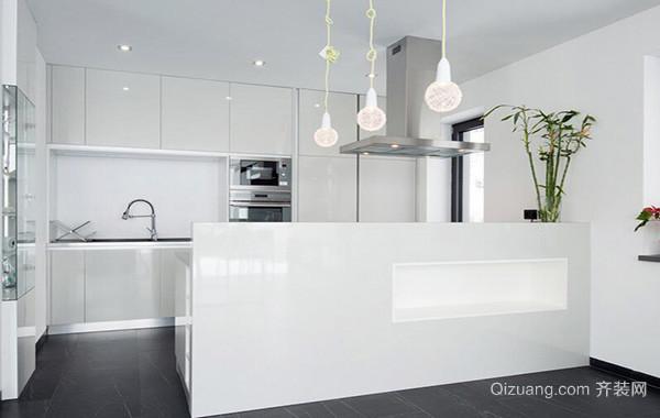2016欧式别墅型厨房吊顶装修效果图欣赏