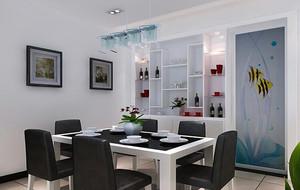 精美的大户型欧式酒柜室内设计装修效果图
