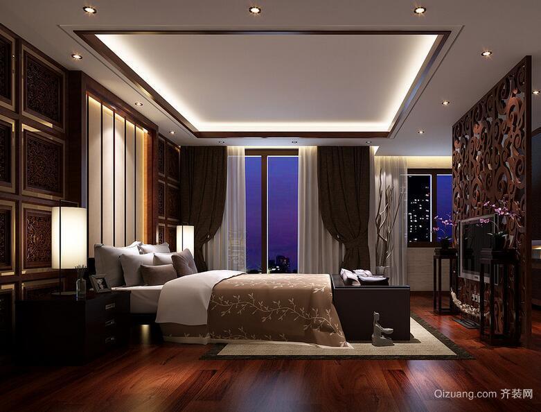 精致大户型欧式卧室设计装修效果图欣赏