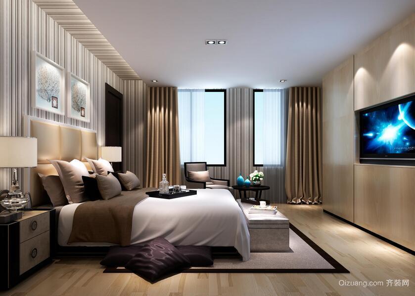 精美的别墅型欧式卧室设计装修效果图欣赏