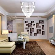 精致的现代小户型客厅装修效果图实例