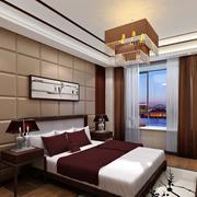 小户型欧式卧室软包背景墙装修效果图实例