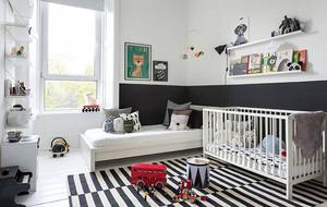 北欧风格自然舒适创意儿童房装修效果图