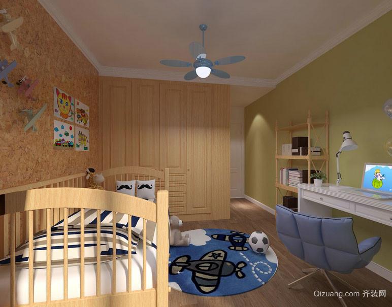 时尚创意精致舍内儿童房装修效果图赏析