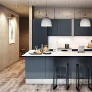 80平米小户型北欧风格自然舒适小厨房装修效果图