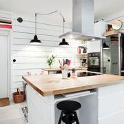 简约时尚厨房效果图