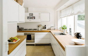 北欧风格自然简约风格小户型小厨房装修效果图