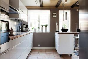 2016年全新款北欧风格100平米厨房装修效果图赏析