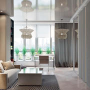 客厅窗帘装饰