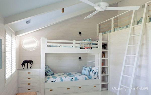 2016年全新款北欧风格大户型可爱儿童房装修效果图赏析
