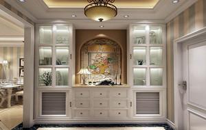 欧式风格别墅精致典雅玄关装修效果图