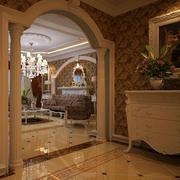 别墅型典雅玄关设计
