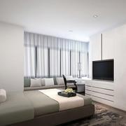 简约卧室飘窗设计