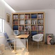 现代简约书房设计