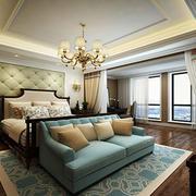 简欧风格精致卧室背景墙