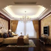 简欧风格卧室吊顶设计